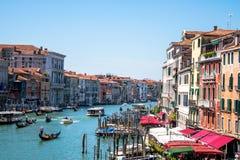 Canal Grande in Venedig, Italien Stockbild