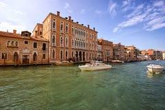 Canal Grande in Venedig, Italien stockfotos