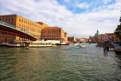 Canal Grande in Venedig, Italien lizenzfreie stockfotos