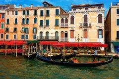 Canal Grande in Venedig, Italien stockbilder