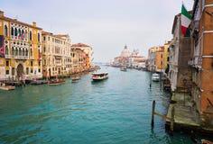 Canal grande, Veneza Fotos de Stock Royalty Free