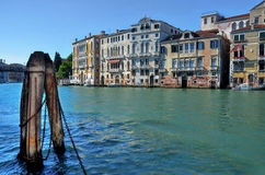Canal grande, Veneza foto de stock
