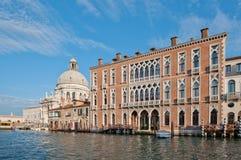Canal grande, Veneza, Italy Foto de Stock Royalty Free