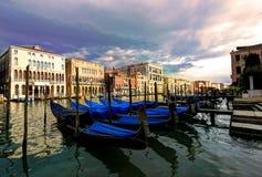Canal grande, Veneza, Italy Imagem de Stock Royalty Free