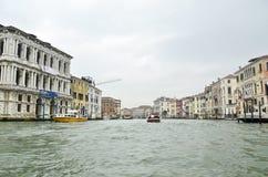 Canal grande Veneza Italy Fotos de Stock