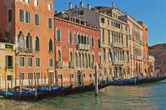 Canal grande (Veneza, Veneza, Italy) foto de stock