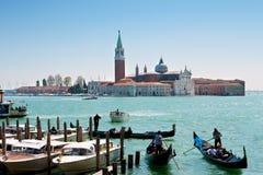 Canal grande, Venezia, Italia Fotografia Stock Libera da Diritti