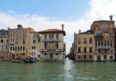 Canal grande a Venezia, Italia Immagine Stock