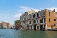 Canal grande a Venezia, Italia Fotografia Stock
