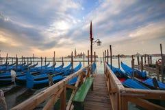 Canal grande a Venezia, Italia Fotografia Stock Libera da Diritti