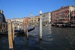 Canal grande a Venezia, Italia immagini stock libere da diritti