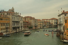 Canal Grande in Venice Stock Photo