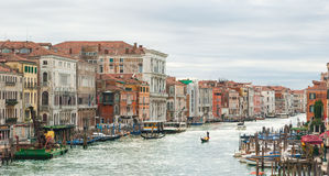 The Canal Grande in Venice Royalty Free Stock Images