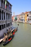 Canal Grande in Venice, Italy Royalty Free Stock Image