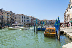 Canal Grande Royalty Free Stock Photography