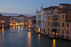 Canal Grande in Venice, Italy Stock Photography