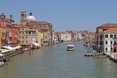 Canal Grande Stock Photo