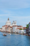 Canal Grande in VENICE , ITALY Royalty Free Stock Photo