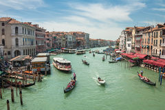 Canal Grande in Venice Royalty Free Stock Photo