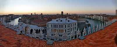 Postcard form Venice Veneto Italy stock images