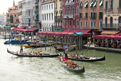 Canal grandes - Venise - Italie Photo stock