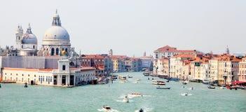 Canal grandioso em Veneza imagens de stock royalty free