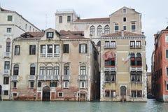 Canal grandioso em Veneza Imagem de Stock Royalty Free