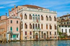 Canal grandioso em Veneza, Italy Foto de Stock