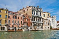 Canal grandioso em Veneza, Italy Imagens de Stock
