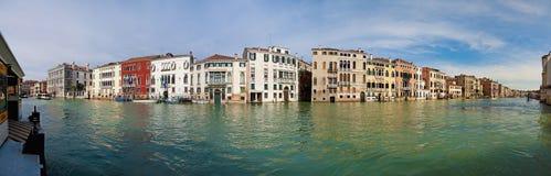 Canal grandioso - estação de Stae em Veneza, Itália Imagens de Stock