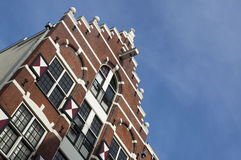 Canal house in Amsterdam Royalty Free Stock Photo