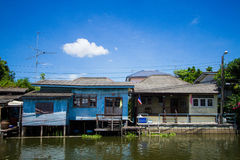 Canal House Royalty Free Stock Photography