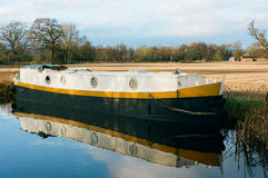 Canal Houseboat England Royalty Free Stock Images