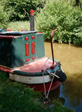 Canal Houseboat  Stock Photography