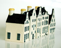 Canal houses 1 Royalty Free Stock Photography