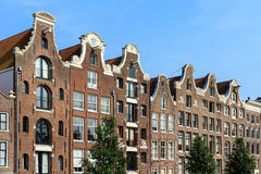 Canal houses Amsterdam Stock Image