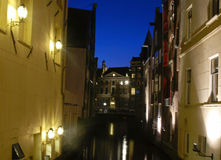 Canal houses Royalty Free Stock Images