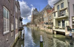Free Canal In Dordrecht, Holland Royalty Free Stock Photos - 14643638