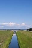 Canal In Peterhof, St Petersburg, Russia Stock Photos