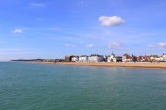 Canal inglês Reino Unido da praia do negócio Foto de Stock Royalty Free