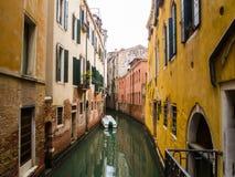 Canal intérieur Photographie stock