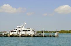 Canal intracostero de Miami fotografía de archivo