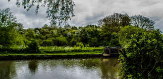 Canal life Bedfordshire Royalty Free Stock Photography