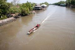 Canal local tailandés Imágenes de archivo libres de regalías