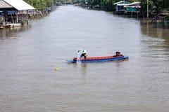 Canal local tailandés Imagen de archivo libre de regalías