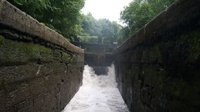 Canal Lock royalty free stock photography