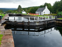 Canal Lock Royalty Free Stock Photo
