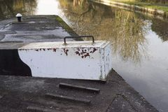 Canal lock Stock Image