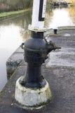 Canal lock Royalty Free Stock Photo