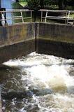 Canal lock, Stratford-upon-Avon. Stock Photos